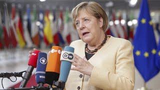 Merkel bei EU-Gipfel: Energiepreise und Streit mit Polen