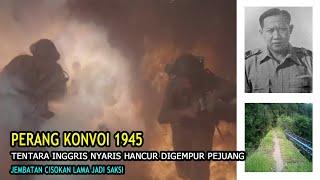MENUJU SUKABUMI, KONVOI PASUKAN INGGRIS NYARIS DIBUAT HANCUR OLEH PASUKAN INDONESIA