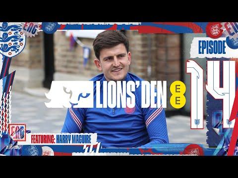 Live Training & Maguire previews Czech Republic   Episode 14   Lions' Den   England