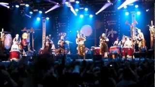 Corvus Corax & Wadokyo - Spielmannstanz (Live at Castlefest 2012)