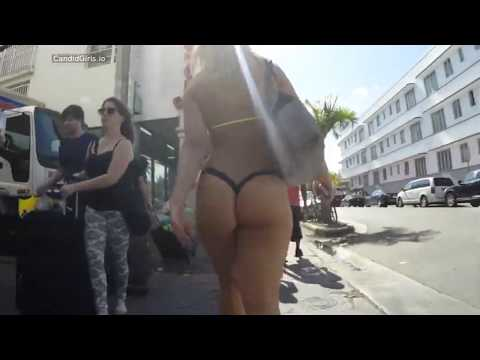 Hot porno fine ass babes in thongs