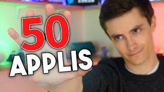 50 APPLIS en une vidéo ! (Android / iOS)