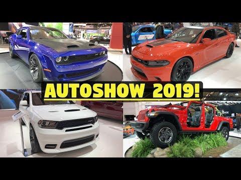 Mopar/FCA Highlights - 2019 Canadian Auto Show - SRT Redeye, Jeep Gladiator, & More!