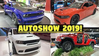 Mopar/FCA Highlights - 2019 Canadian Auto Show - SRT Redeye, Jeep Gladiator, & More!