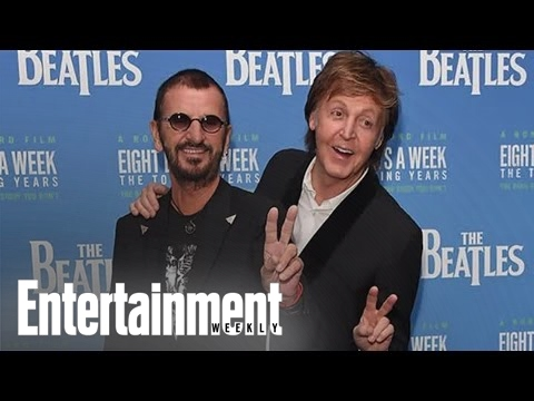 Paul McCartney & Ringo Starr At 'Eight Days A Week' Premiere | News Flash | Entertainment Weekly