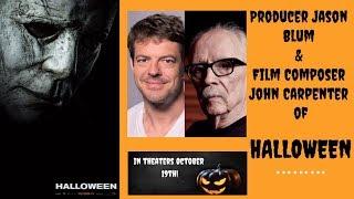 Jason Blum and John Carpenter Discuss The Music of 'Halloween'