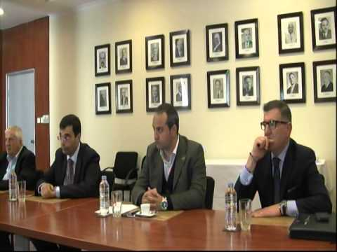 Għaqda Ġurnalisti Sports courtesy meeting to MFA Bureau 2nd April 2014