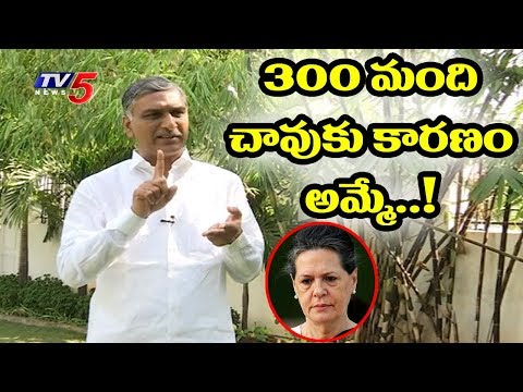 TRS Leader Harish Rao Exclusive Interview On Telangana Elections | TV5 News