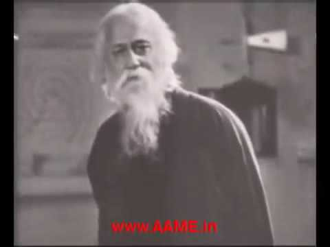 Tagore singing Indian national anthem - original
