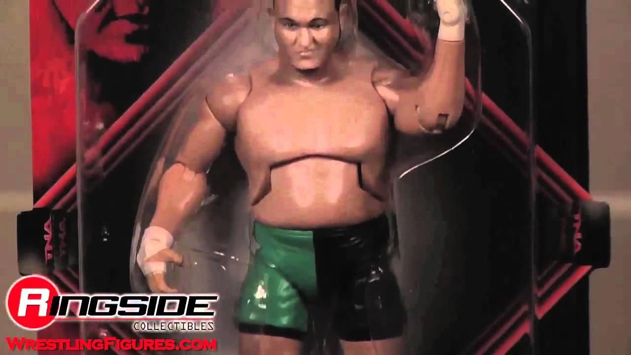 TNA WWE Samoa Joe WRESTLING Figura Jakks