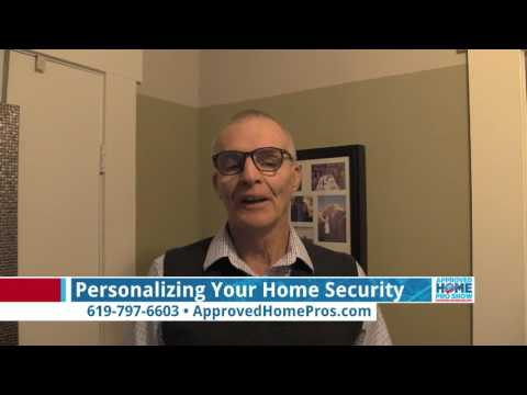 Personalizing Your Home Security