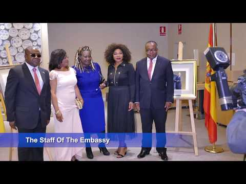 Celebration of 45th anniversary of The Unification of Cameroon by the Cameroonian Embassy in Madrid