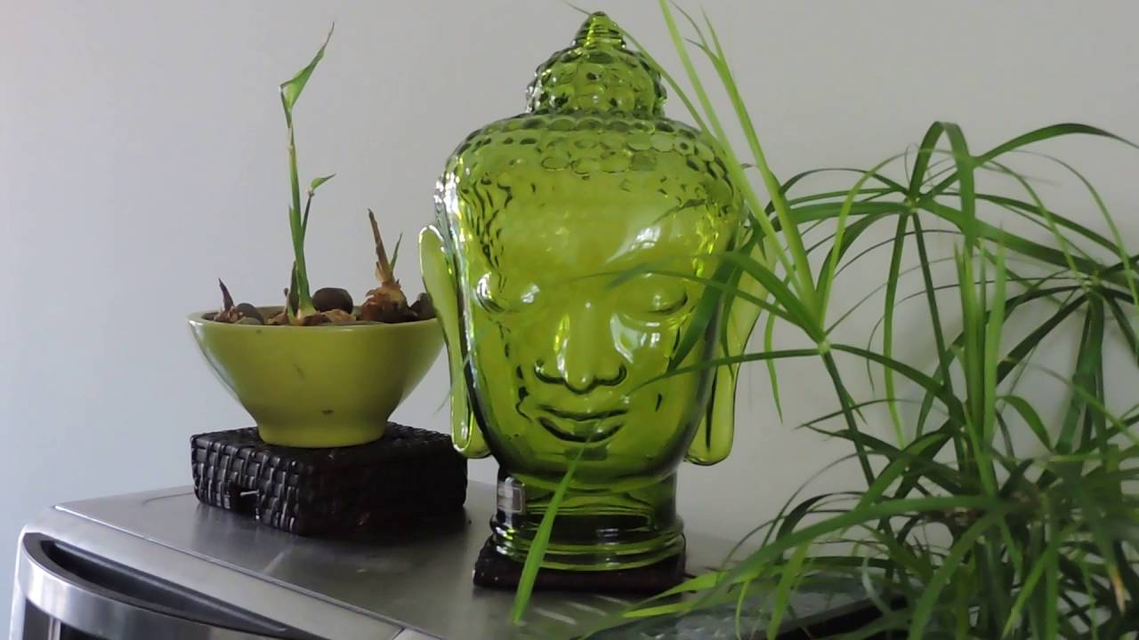 Indoor DIY fountain--Zen fountain - YouTube