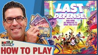 Last Defense - How To Play screenshot 4
