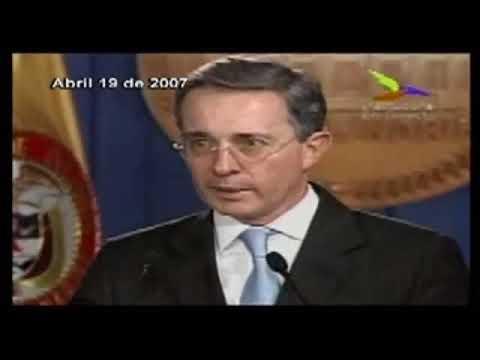 Declaraciones del presidente Uribe frente al DAS y las Chuzadas