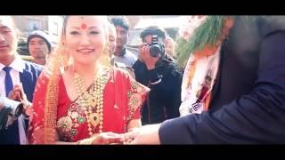 Pabin Rai weds Luke Hamilton | Wedding Montage | Nepali Wedding | Dharan wedding