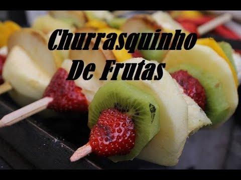 CHURRASQUINHO DE FRUTAS