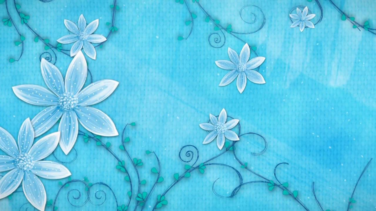 Free HD Download Wedding Background Motion Graphics Animation FLOWER 005