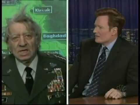 Late Night Military Analyst General Sam Mildener - 3/27/2003