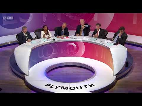 Question Time Studio Cracking up at Daily Mail