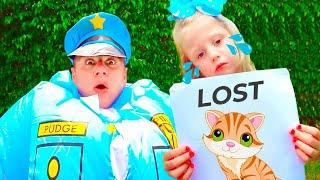 Nastya und die Polizei untersuchen das geheime Leben des Haustieres