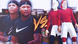 2 BROTHERS VS GLITCHING CHEATERS 'YOU GOTTA SEE WHAT THEY DID!' NBA 2K19 TREANDJ