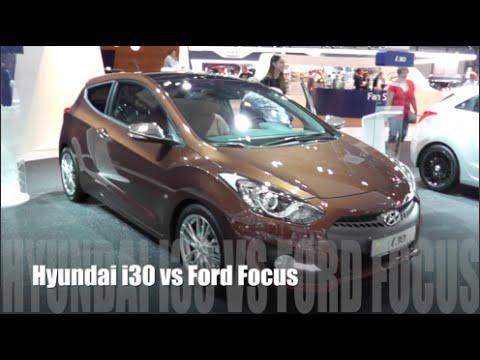 hyundai i30 против ford focus 3