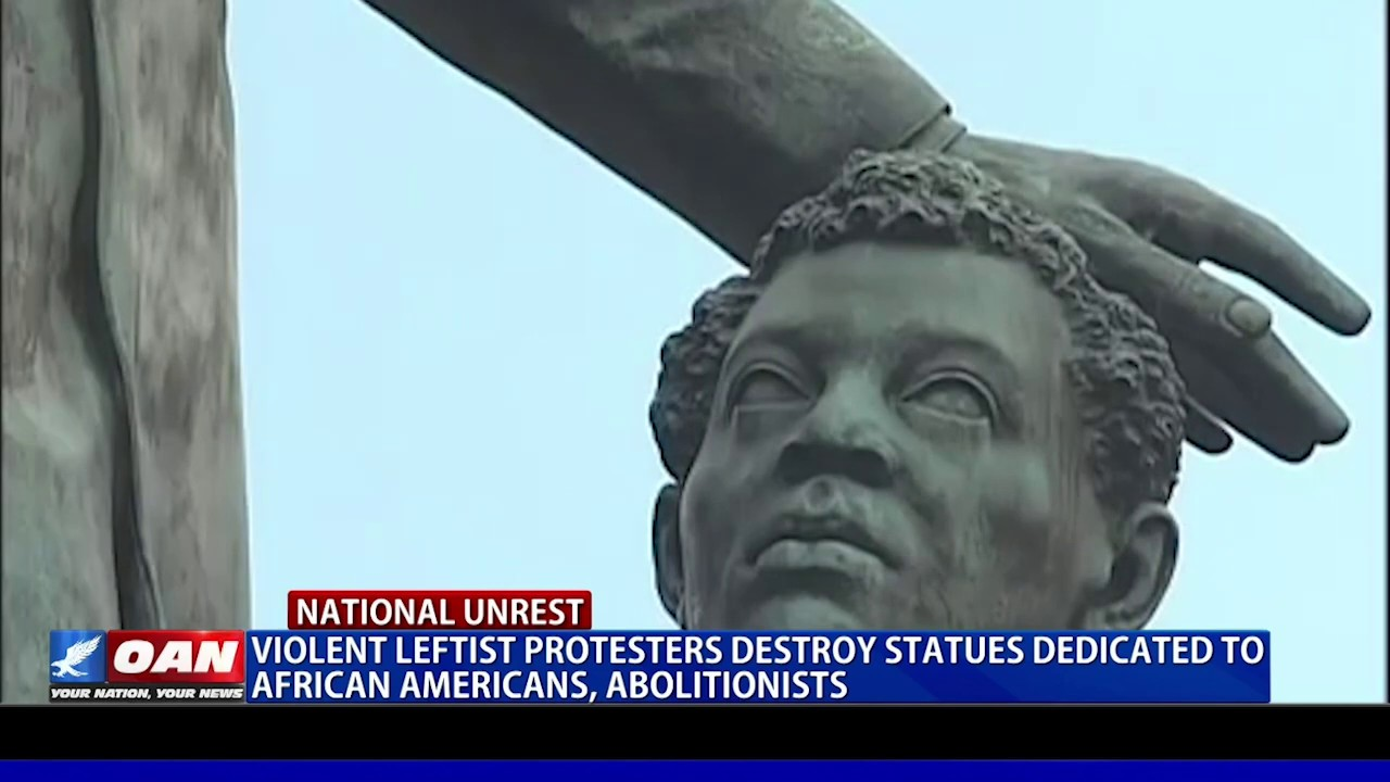 Protesters destroy statues dedicated to African Americans
