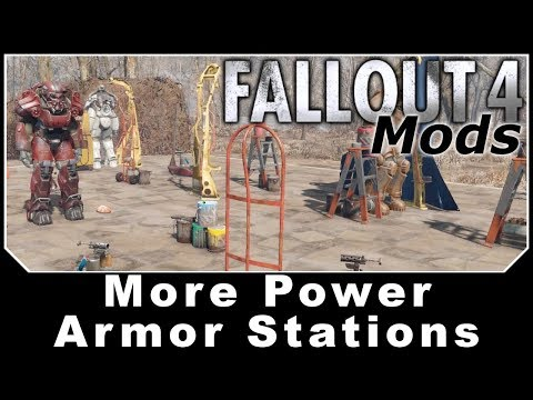 Fallout 4 Mods - More Power Armor Stations