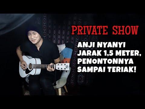PRIVATE SHOW ANJI, DI BANDUNG