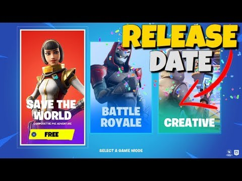 Fortnite Save The World Official Free Release Date