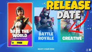 Fortnite Save The World Date de sortie officielle officielle
