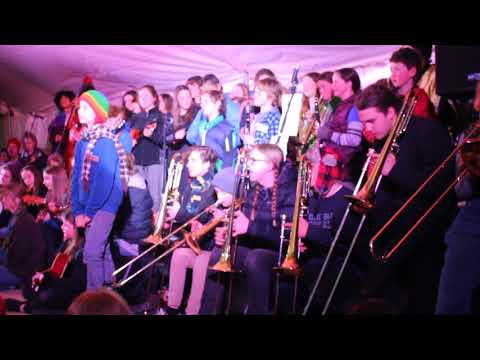 Youth Band led by Aryo Hall at Rosewood Music camp 2017