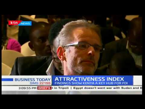 Kenya ranked the fifth most attractive economy for investment in Africa