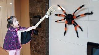 거미들이 따라와요!! 서은이의 할로윈 고스트 하우스 특집 모음 Halloween Special Video Collection