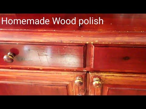 Homemade Wood Polish | How to clean and polish wood furniture | DIY cleaner for wood furniture | woo