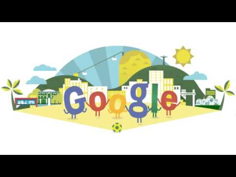 World Cup 2014 Google logo (Doodle)