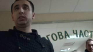 Соломенское РОВД, подача заявления о нападении на журналиста 26.01.2017г