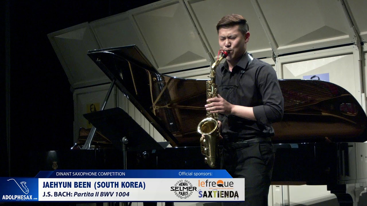 Jaehyun Been (South Korea) -  Partita II by J S Bach (Dinant 2019)