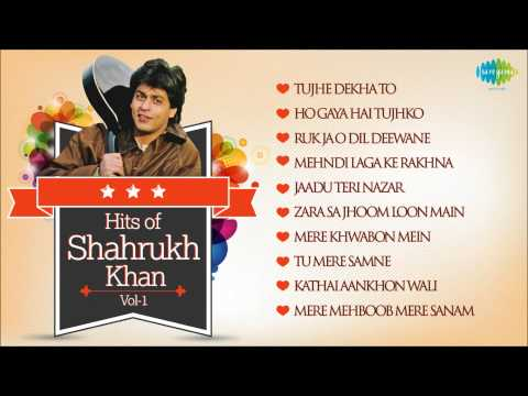 Best Of Shahrukh Khan  Dilwale Dulhania Le Jayenge  SRK Famous Songs  Vol 1