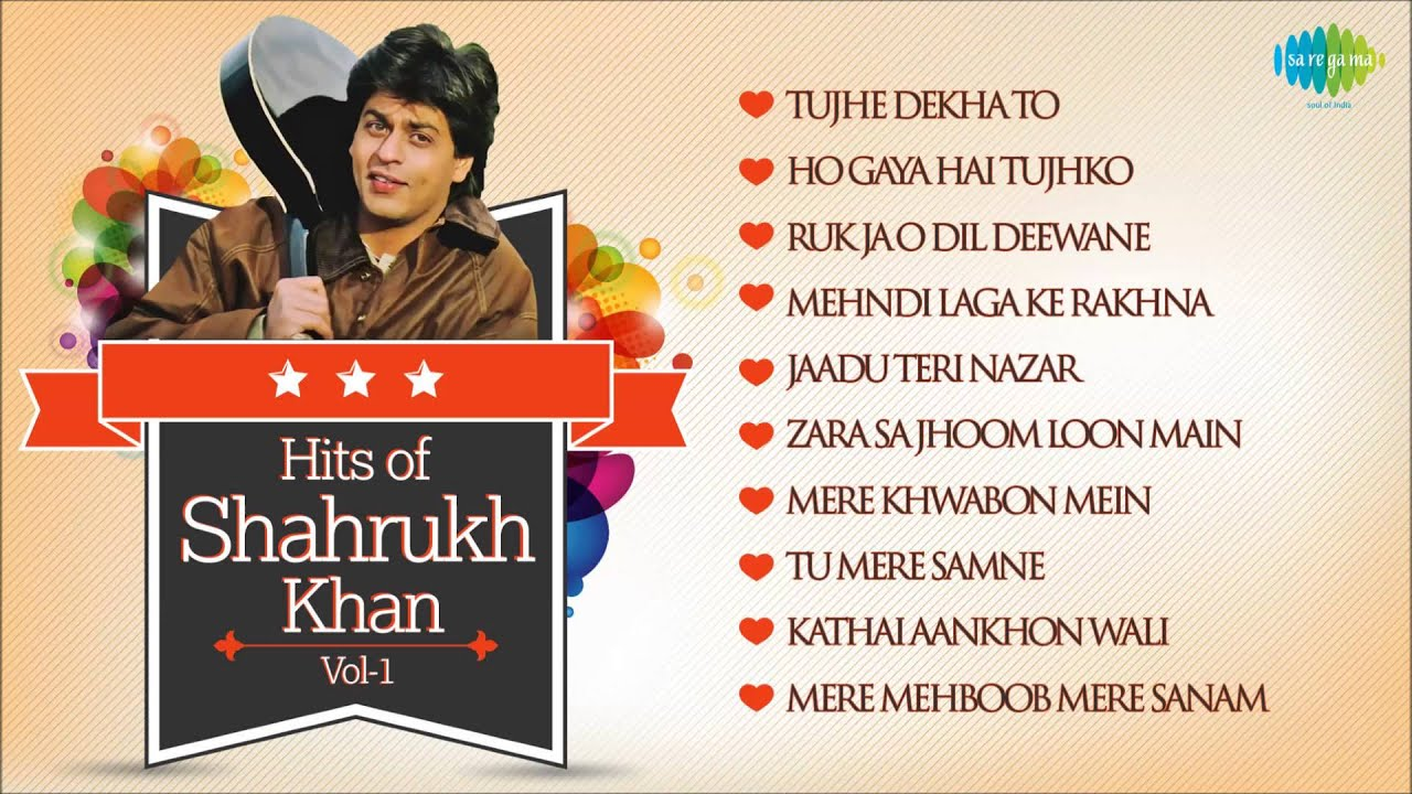 shahrukh best songs list