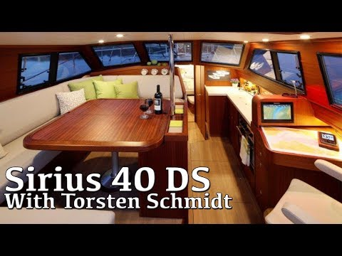 SIRIUS 40 DS (Best In Show - Only Our Opinion) Southampton Boat Show 2017
