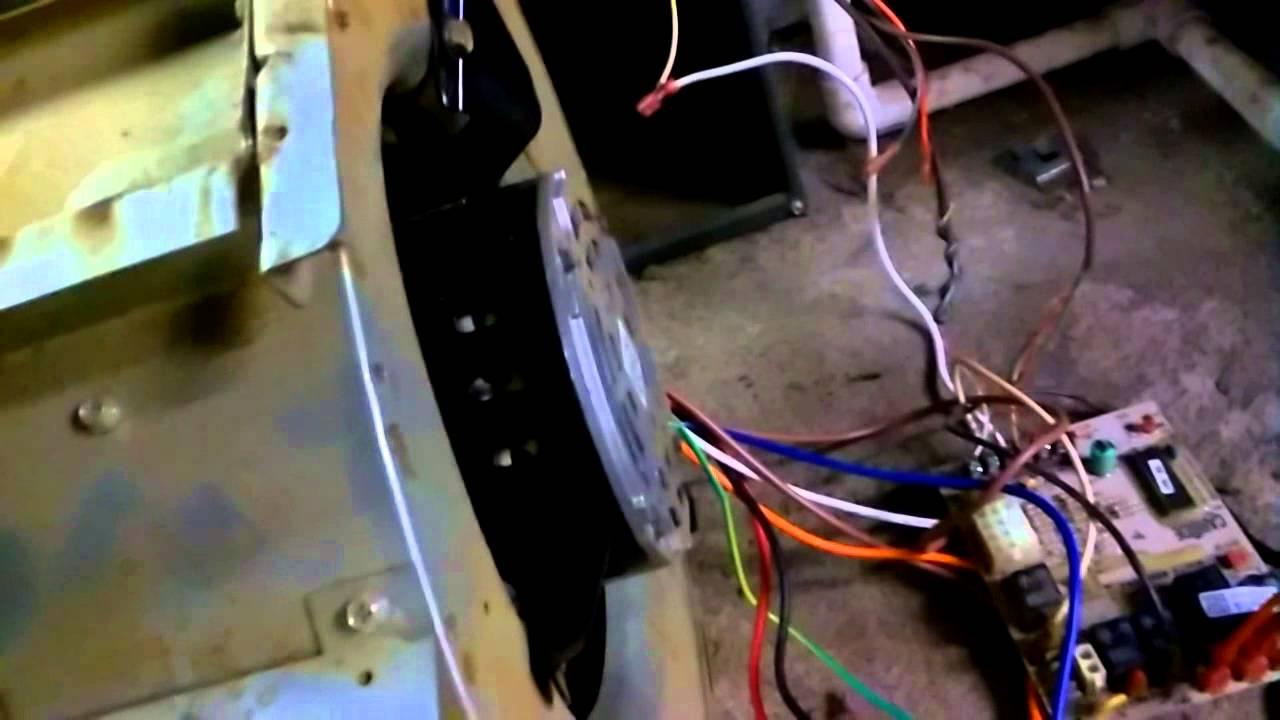 How to replace a blower motor on a goodman furnace part 2 youtube goodman furnace exhaust fan how to replace a blower motor on a goodman furnace part 2