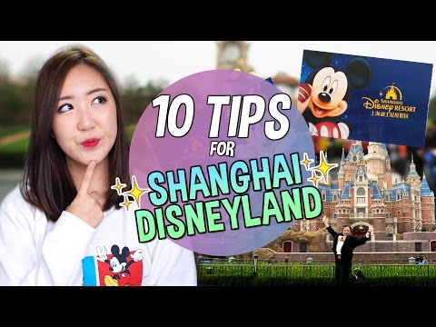 10 THINGS YOU SHOULD KNOW BEFORE GOING TO SHANGHAI DISNEYLAND!!