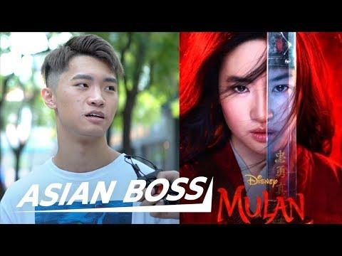 The Chinese React To Disney's Mulan Trailer | ASIAN BOSS