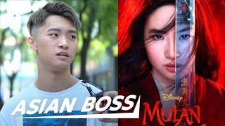 The Chinese React To Disney's Mulan Trailer   ASIAN BOSS