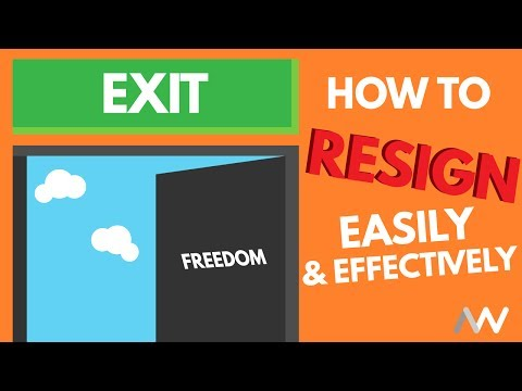 How to Resign Effectively