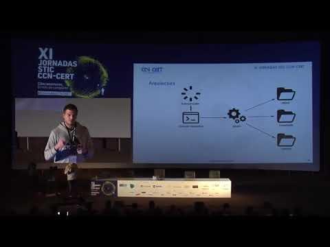 Presentación de UAC-A-Mola en CCN-CERT 2017