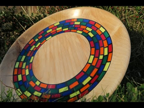 The Multicoloured Milliput Mosaic Bowl