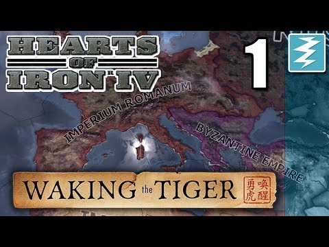 HOW TO FORM THE ROMAN EMPIRE [1] With Aldrahill - Hearts of Iron IV - Waking The Tiger DLC
